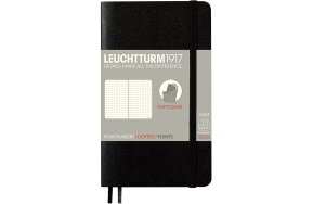 ΣΗΜΕΙΩΜΑΤΑΡΙΑ LEUCHTTURM POCKET A6 SOFTCOVER DOTTED BLACK